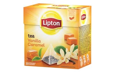 Lipton Pyramid tee 20ps vanilja-toffee RFA 34g