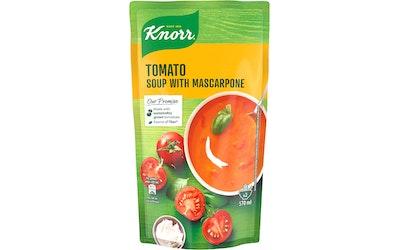 Knorr Tomaattikeitto mascarponejuustolla ja aurinkokuivatuilla tomaateilla 570 ml