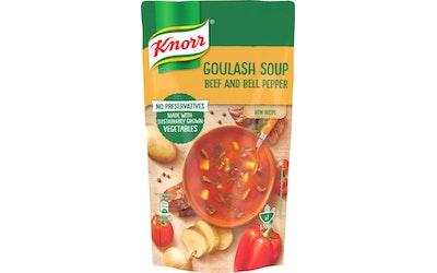Knorr Gulassikeitto naudanlihalla ja punaisella paprikalla 570 ml