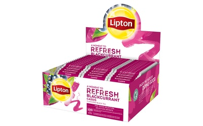 Lipton HoReCa tee mustaherukka 100pss