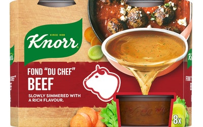 Knorr FOND DU CHEF Naudanliha-annosfondi 8 x 28 g