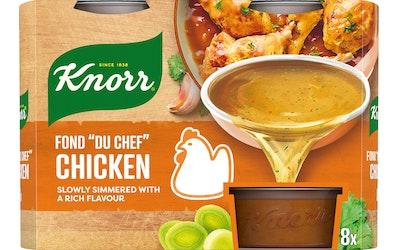 Knorr FOND DU CHEF Kana-annosfondi 8 x 28 g