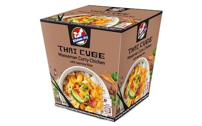 Kitchen Joy Massaman currykanaa ja jasminriisiä 350g pakaste