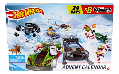 Hot Wheels joulukalenteri - kuva