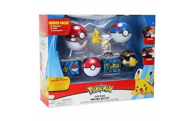 Pokemon Clip N Go Vyösetti - Deluxe - kuva