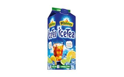 Pfanner jäätee sitruuna-lime 2,0l