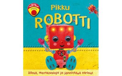 Pikku robotti-Ääniä, merkkivaloja ja jännittävä tarina