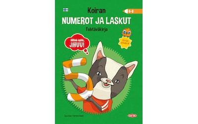 JiHUU! Koiran numerot ja laskut, Tehtäväkirja (6--8)