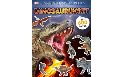 Dinosaurukset 600 tarraa