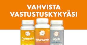 Vitamiineja talven pakkasille