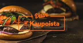 Vain K-kaupoista