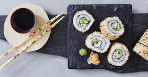 Japanilaista sushia Kökkelistä