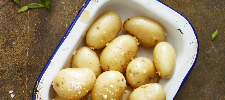 Uudet perunat, salt & vinegar