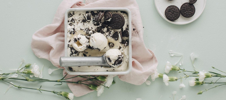 Helppo Oreo-jäätelö