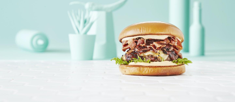 Korealainen BBQ-bulgogiburgeri