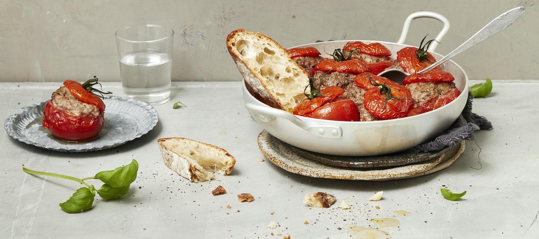 Täytetyt tomaatit