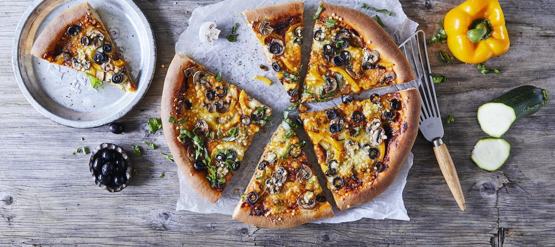 Vegaaninen pizza