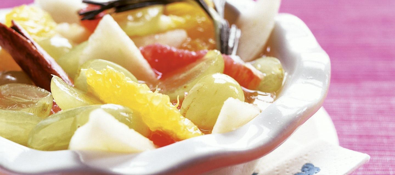 Rosmariinimarinoidut hedelmät
