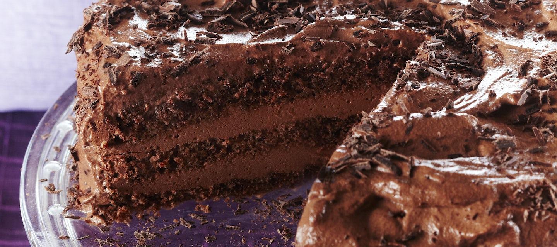 Suklaaunelmatäytekakku