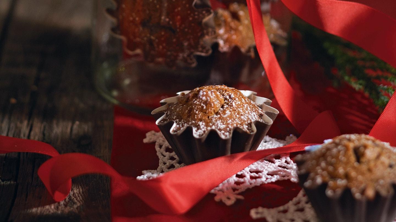 Joulumuffinit