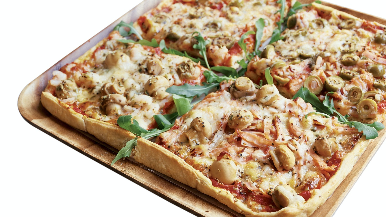 Neljän vuodenajan pizza