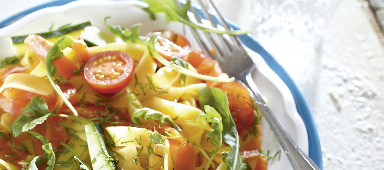 Lohi-tuorepastasalaatti