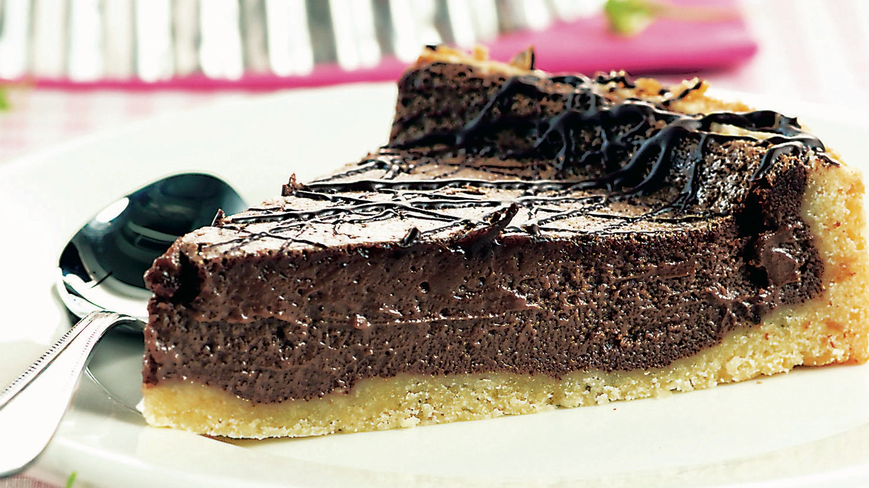Terästetty suklaajuustotorttu