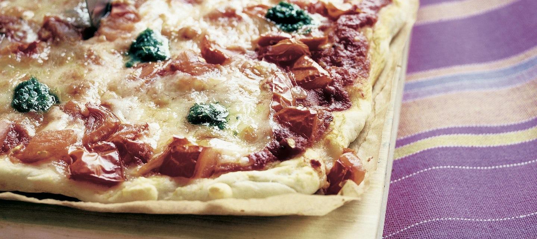 Mozzarellapizza, pellillinen