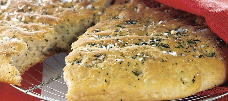 Valkosipulinen leipä