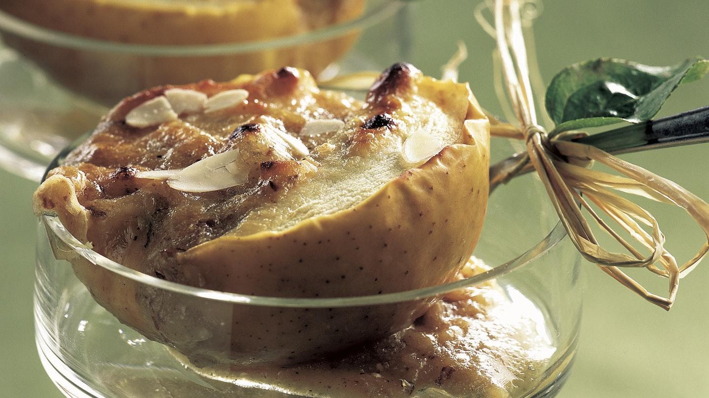 Vuohenjuusto-omenat