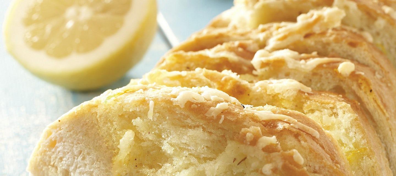 Sitruunaleipä kreetalaisittain
