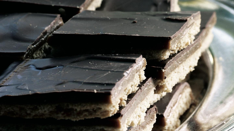 Kinuski-suklaaruudut