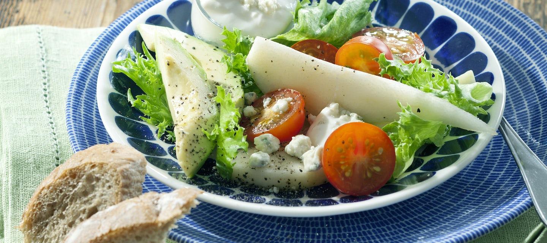 Avokado-alkusalaatti