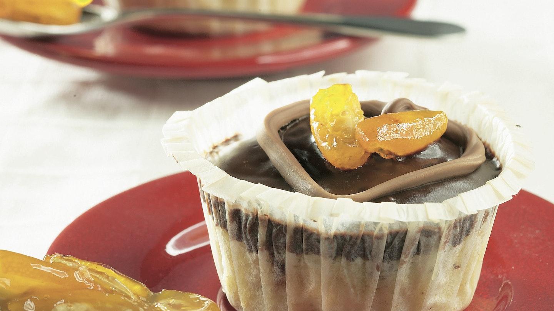 Ystävänpäivän suklaamuffinssit