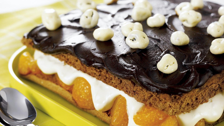 Mandariini-suklaakakku