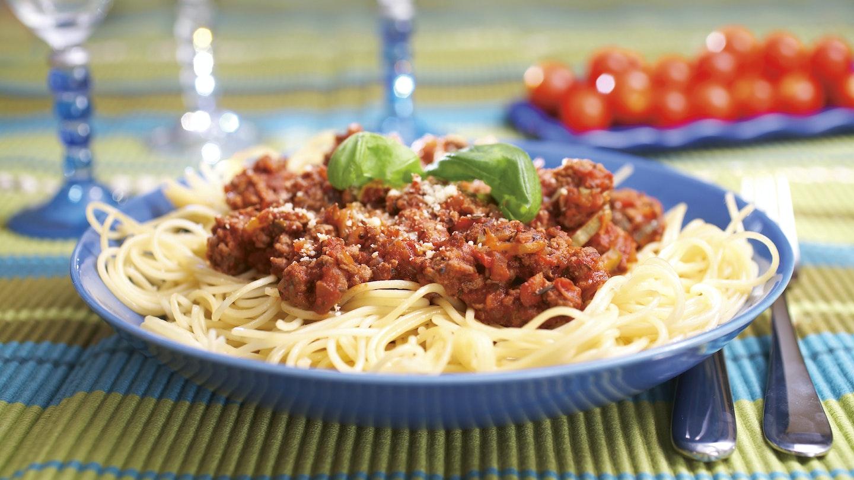 Jauhelihaspagetti