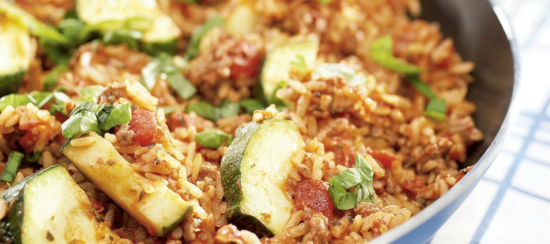 Riisi-jauheliharatatouille