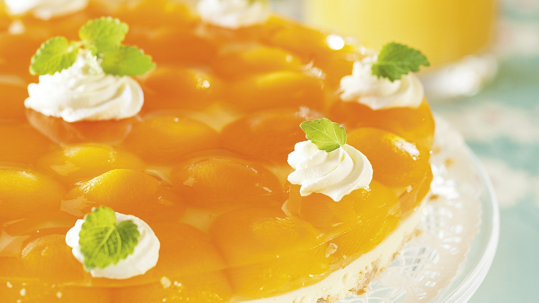 Aprikoosi-juustokakku