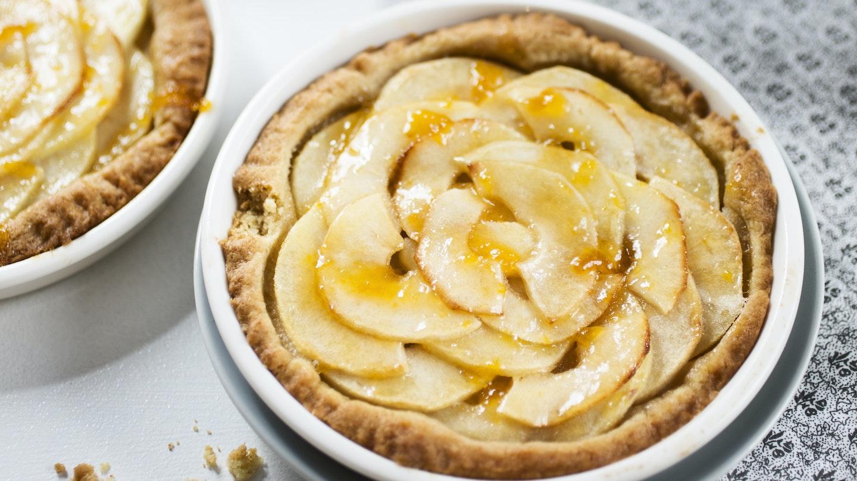Helppo omenapiirakka ranskalaisittain