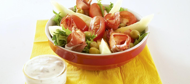 Salaatti Schwarzwaldin tapaan