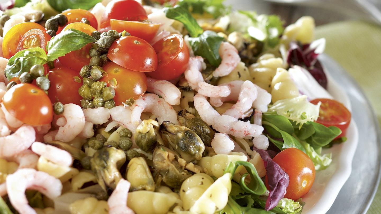 Frutti di mare -salaatti