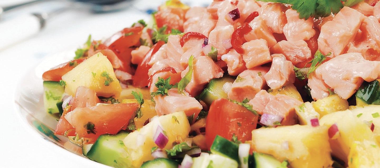 Lohi-ananasceviche