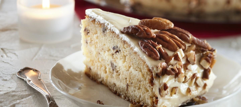 Pekaanipähkinä-kookoskakku