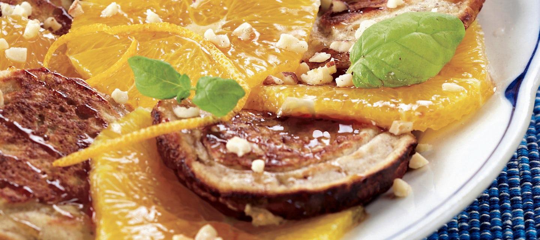 Appelsiini-kaurapannukakut