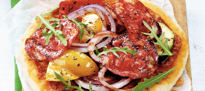Chorizo-vihannespizzat