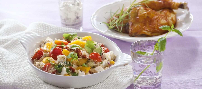 Couscous-salaatti