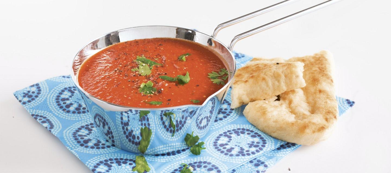 Intialainen tomaattikeitto