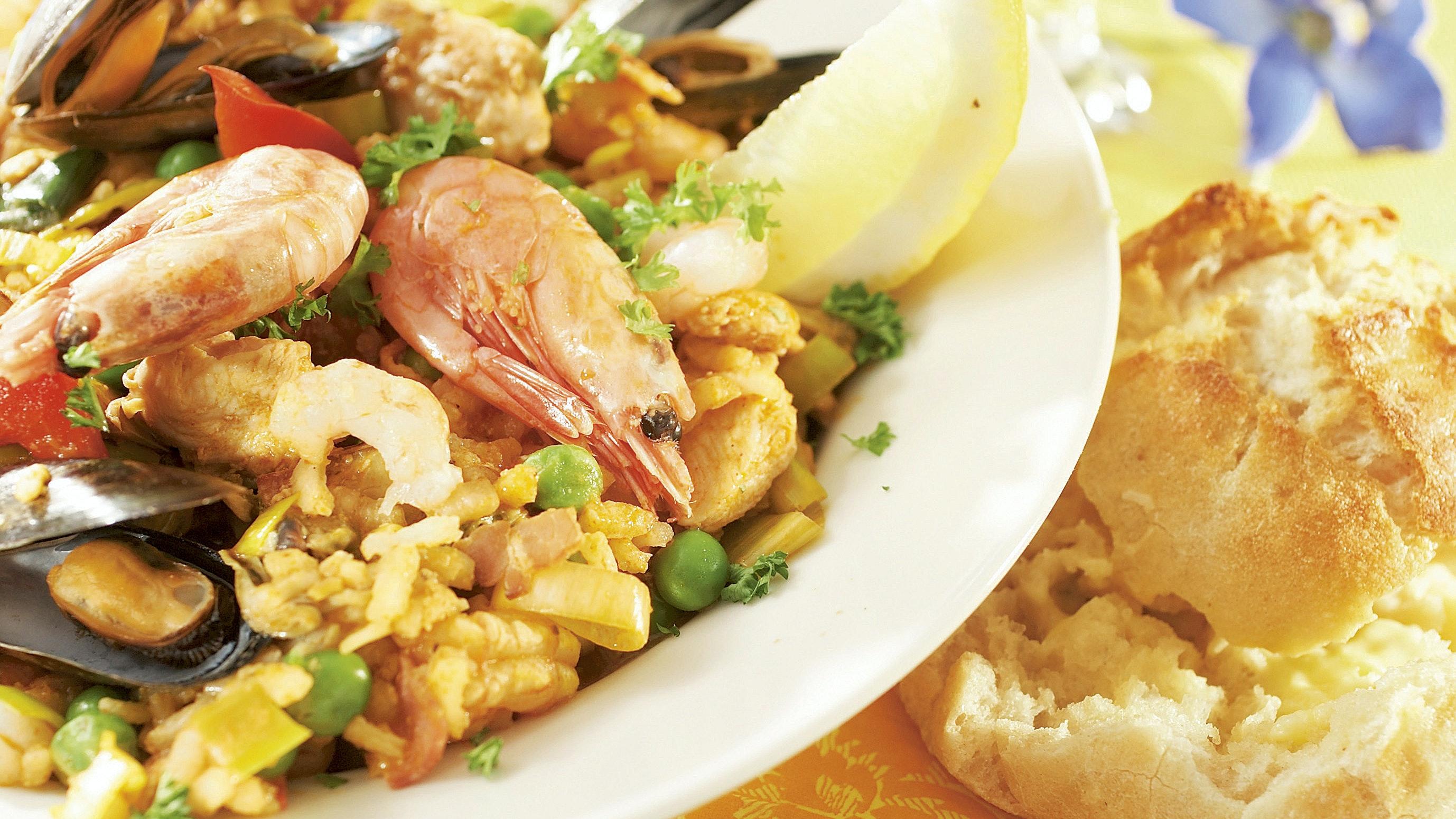 paella mauste