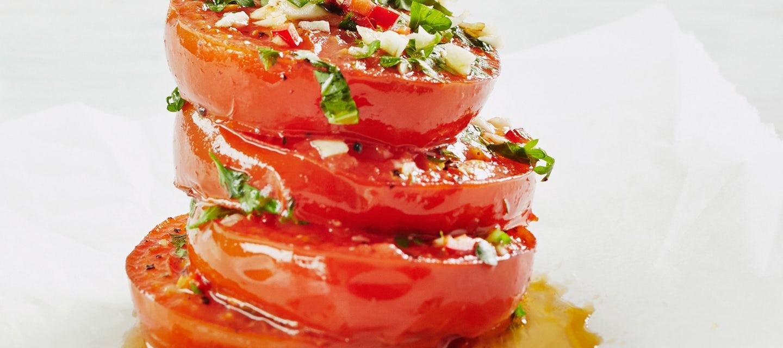Paistetut tomaatit