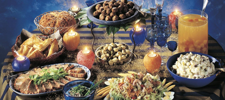 Marinoidut valkosipulinkynnet & oliivit